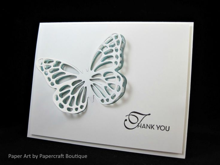PP291 - thank you by PapercraftBoutique - Cards and Paper Crafts at Splitcoaststampers