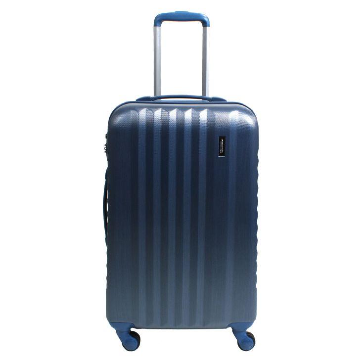 March15 Ribbon Trolley 65 cm 4 Rollen blau #Reisekoffer #reisen #Trolley