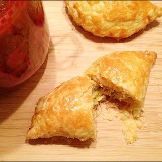Recept voor zelfgemaakte pasteitjes met kip.