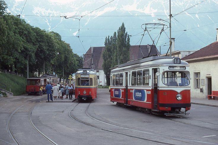 Trams d'Innsbruck (Autriche) | 1979