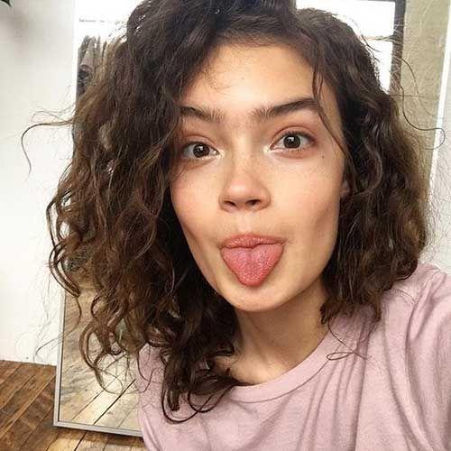 Curly Short Frisuren für Frauen 2018