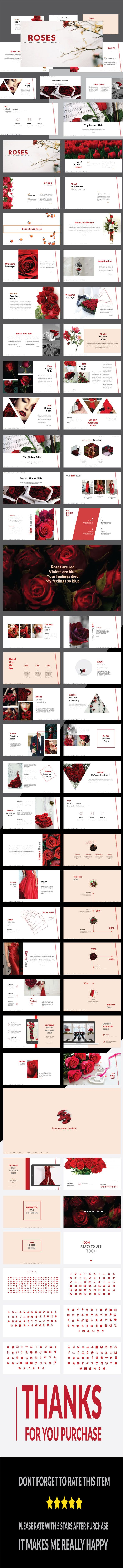 Best 25 create powerpoint presentation ideas on pinterest roses multipurpose powerpoint template toneelgroepblik Image collections