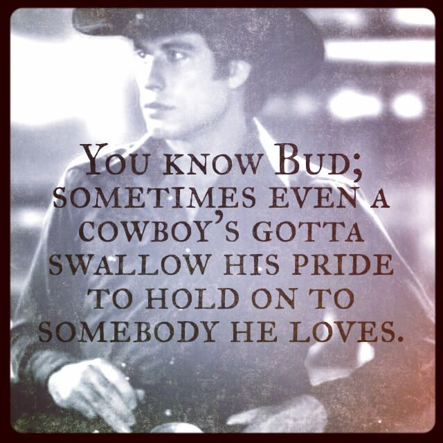 Wise words from Uncle Bob..Urban Cowboy