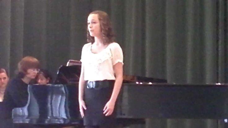 Emily S. Robertson Singing Gloria Deo