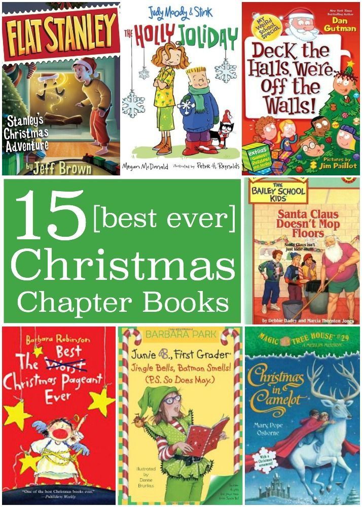BEST EVER Christmas Chapter Books KIDS LOVE!