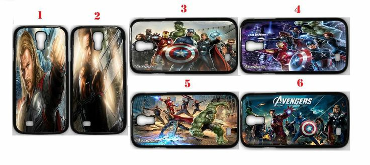 The Avengers Samsung Galaxy S4 Fitted Case/Skin Case Black (1Pcs)