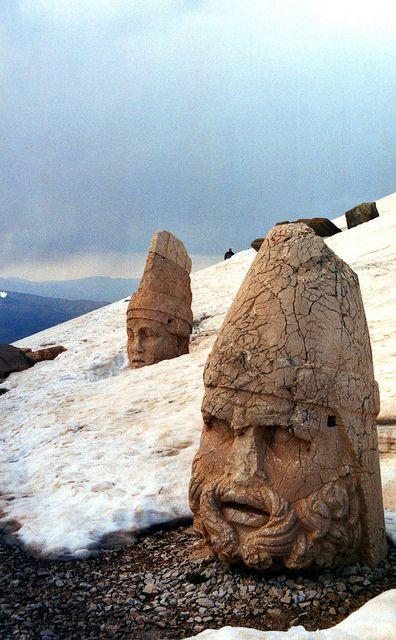 Winter at Nemrut
