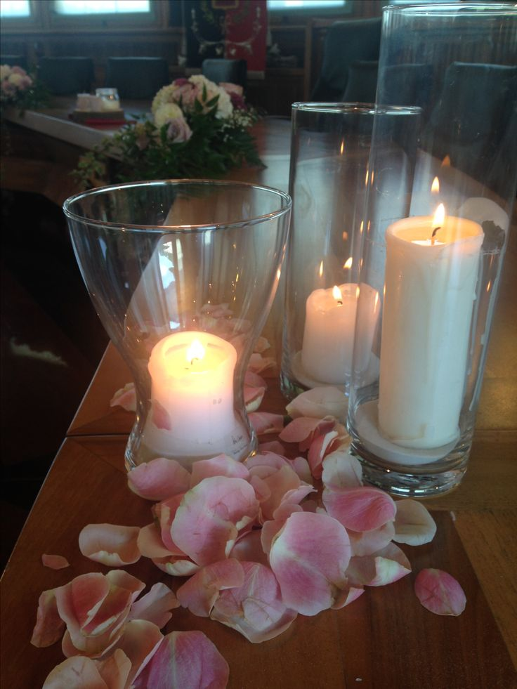 matrimonio romantico con lanterne e candele