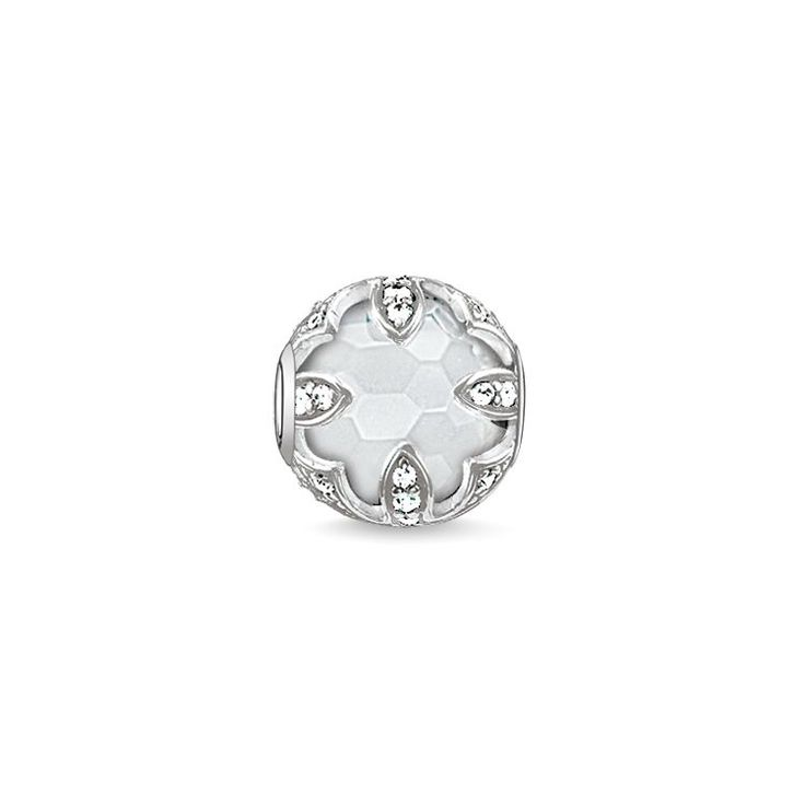 Bead Lotos Milky Quartz – K0143 – Women –THOMAS SABO