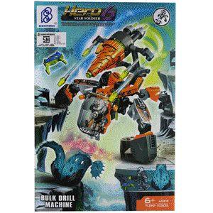 LEGO Brick Seri Hero Factory 6 Star Soldier - Bulk Drill Machine :  - Paket termasuk 1 minifigure LEGO : Bulk - Dilengkapi Buku Panduan Perakitan yang detail dan mudah di mengerti - Produk bisa dikombinasikan dengan Produk Seri Hero 6 Star Soldier lainnya - Bahan High Quality ( Rapi dan Halus ) - Merek Bertoyindo - Merupakan mainan edukasi untuk meningkatkan daya kreativitas dan imajinasi - Untuk Model lain silahkan cek produk dan harganya di lapak kami : www.bukalapak.com/indosoccerstarz