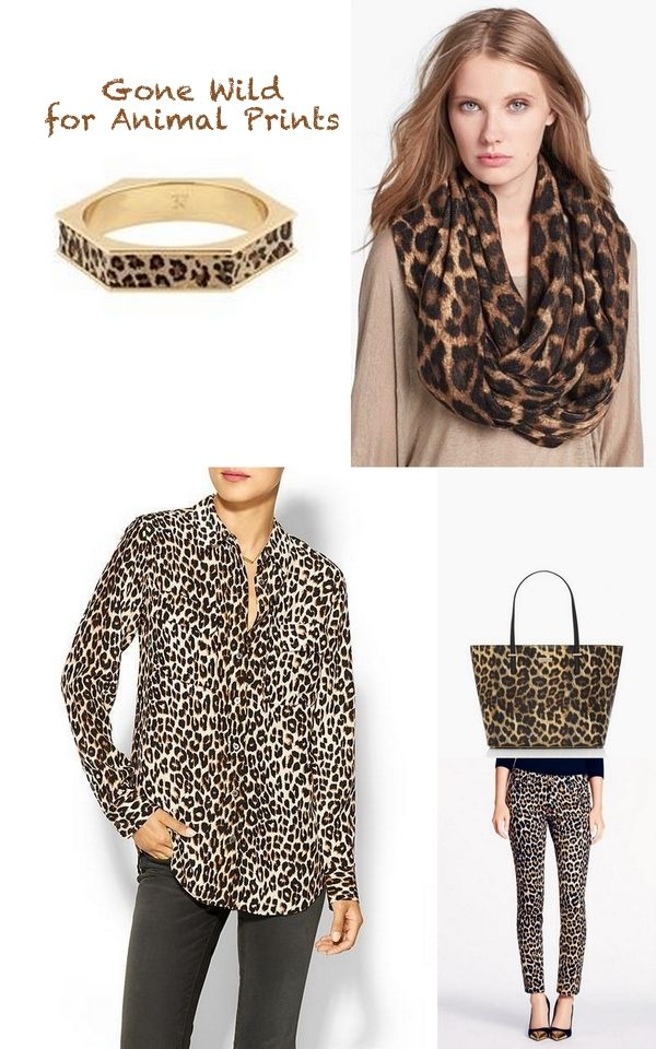 Incorporate Leopard Prints into your wardrobe this Fall! #animalprint #fall