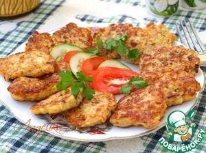 Оладьи из кабачков с индюшиным фаршем Источник: http://www.povarenok.ru/recipes/show/142241/