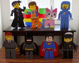 Lego Lego Party Lego Birthday Lego Emmet Lego by aPROPerParty