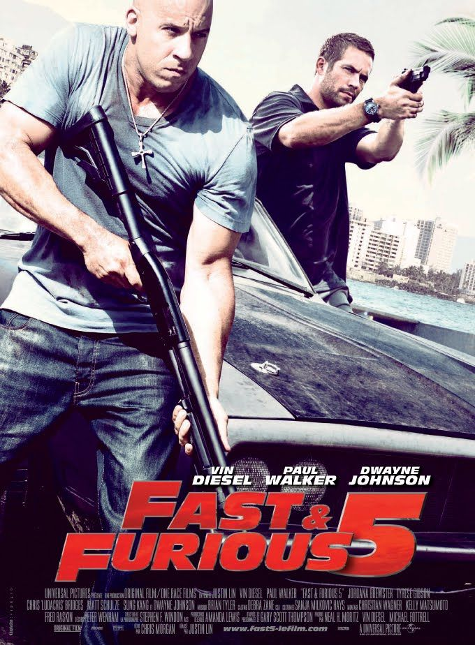 """Fast & Furious 5 Rio Heist. """"All great/good except Tokyo Drift"""" can't wait for 6th one."""