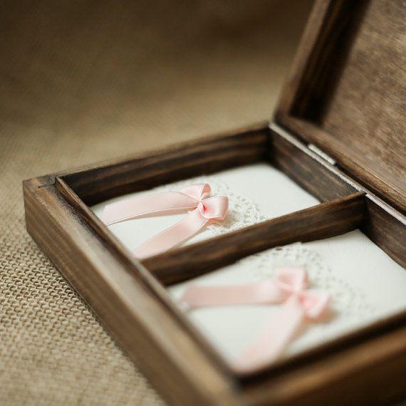 Anello di nozze personalizzata casella. Casella di collectivemade