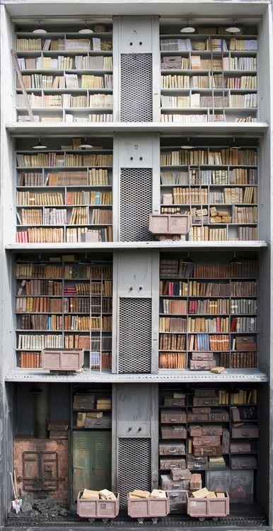 Marc Giai-Miniet dollhouse libraries
