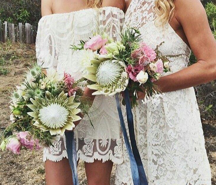 Native protea bouquet