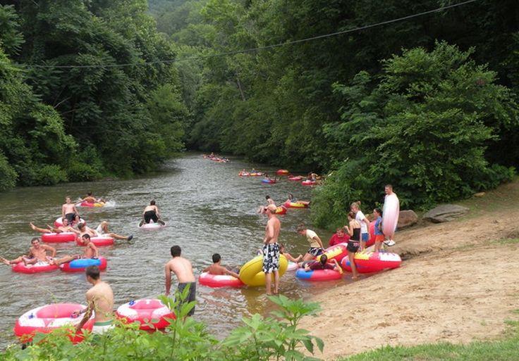 River Tubing, North Carolina Tubing - Wilderness Cove Tubing And Campground - Saluda, Nc
