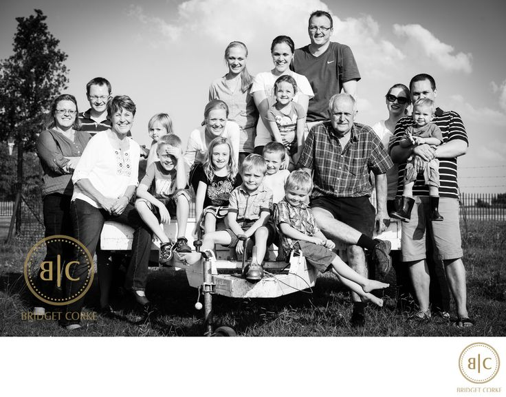 Bridget Corke Photography - Large Family Shoot on Farm Location: