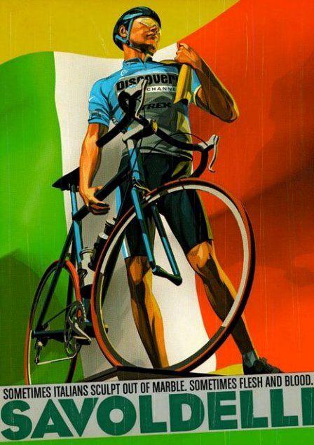 Der italienische Radrennfahrer Paolo Savoldelli war ein begnadeter Berg-Spezialist und  einer der besten Abfahrer der Welt, weshalb er von den Radsport-Tifosi «Il falco» (Der Falke) genannt wurde. Seine grössten Erfolge waren 1998 und 1999 der Sieg beim Giro del Trentino, 1999 der zweite Platz beim Giro d'Italia, 2000 der Sieg bei der Tour de Romandie und 2002 sowie 2005 zwei Gesamtsiege beim Giro d'Italia.