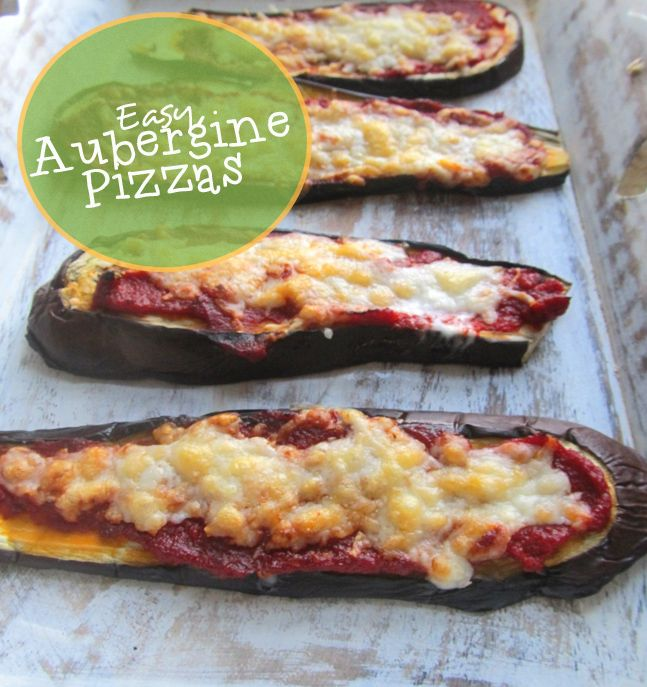 Easy Aubergine Pizza | Super Naturally Healthy with Kezia Hall