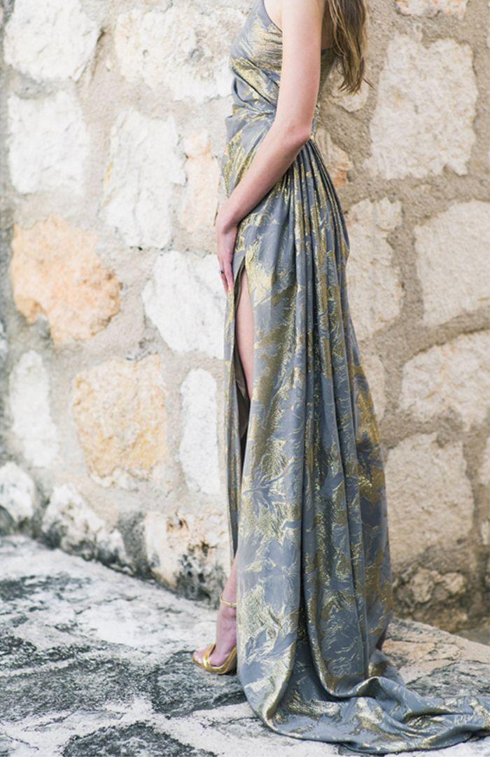 A gorgeous alternative to a wedding dress for a fashion-forward bride.
