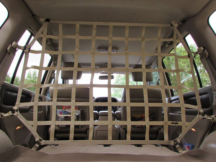 1998 – 2007 Toyota (J100) Land Cruiser Behind Front or 2nd Row Seats Barrier Divider Net – Dual Position