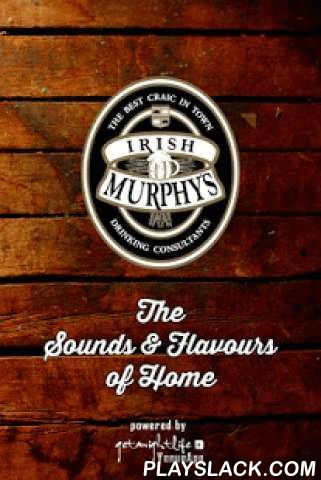 Irish Murphy's Brisbane  Android App - playslack.com , Right in the heart of Brisbane, Irish Murphy's is landmark pub that is all about a great place to meet, eat, drink and party. Irish Murphy's features live music every night of the week from solo acoustic acts and DJs, through to Brisbane's best party bands. Boasting one of the best drinking balconies in the city, a large selection of beers on tap, local, craft and international beers, ciders, and spirits, and a cracking food menu.The…