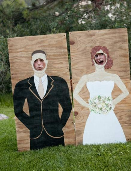 Photobooth Planche Trou MARIAGE Photobooth