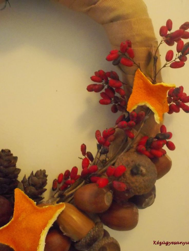 Készülődés (koszorúk, ajtódíszek) Christmas Wreath