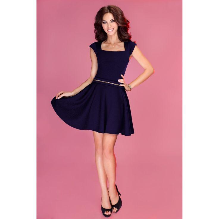 Rochie Exclusive navy blue #dress #rochie #prettymodaro #rochiidezi