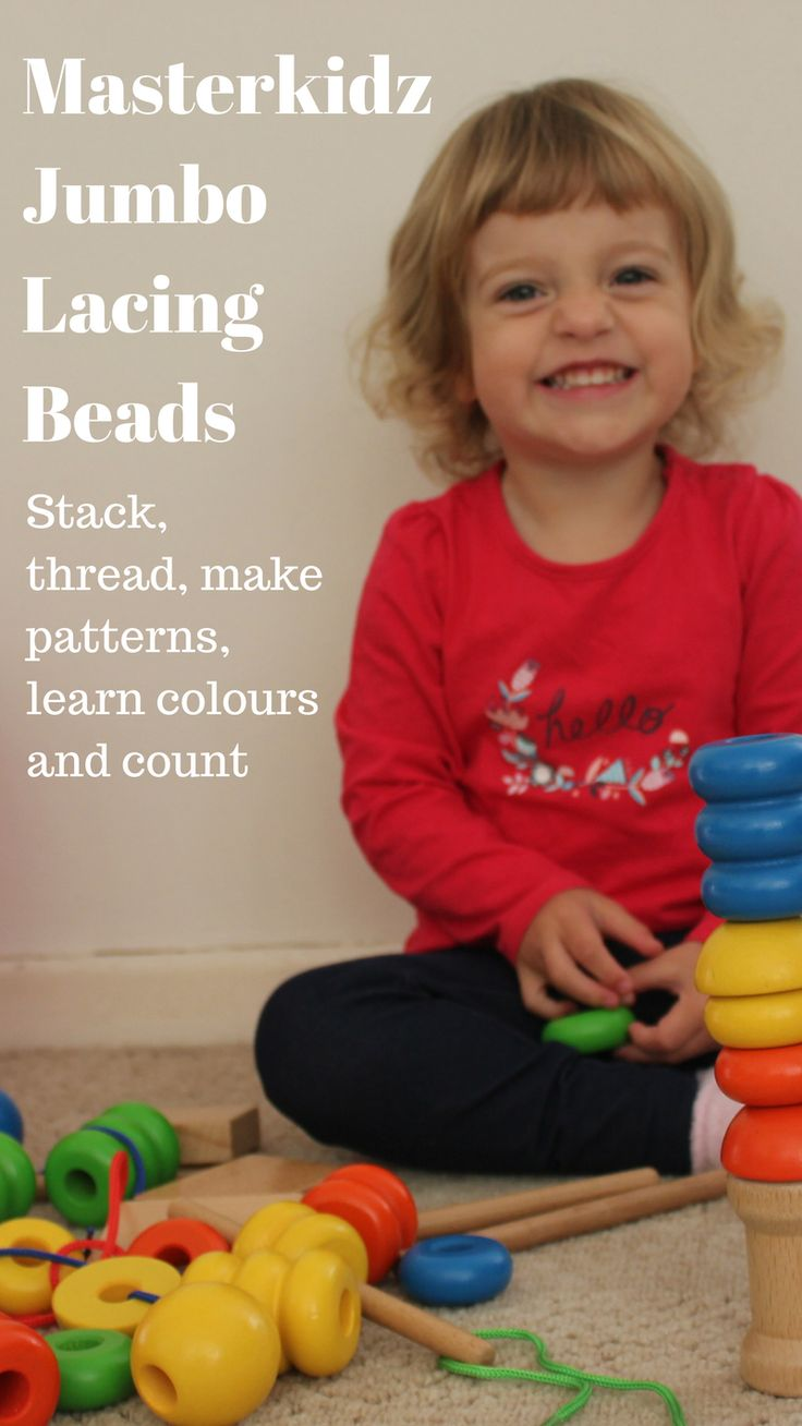 The size of the Masterkidz Jumbo Lacing Beads makes them the perfect resource to introduce to your child from as young as two years of age. We love this set because it manages to encourage development in so many different areas all while keeping your child thoroughly engaged in what they are doing. Read more...