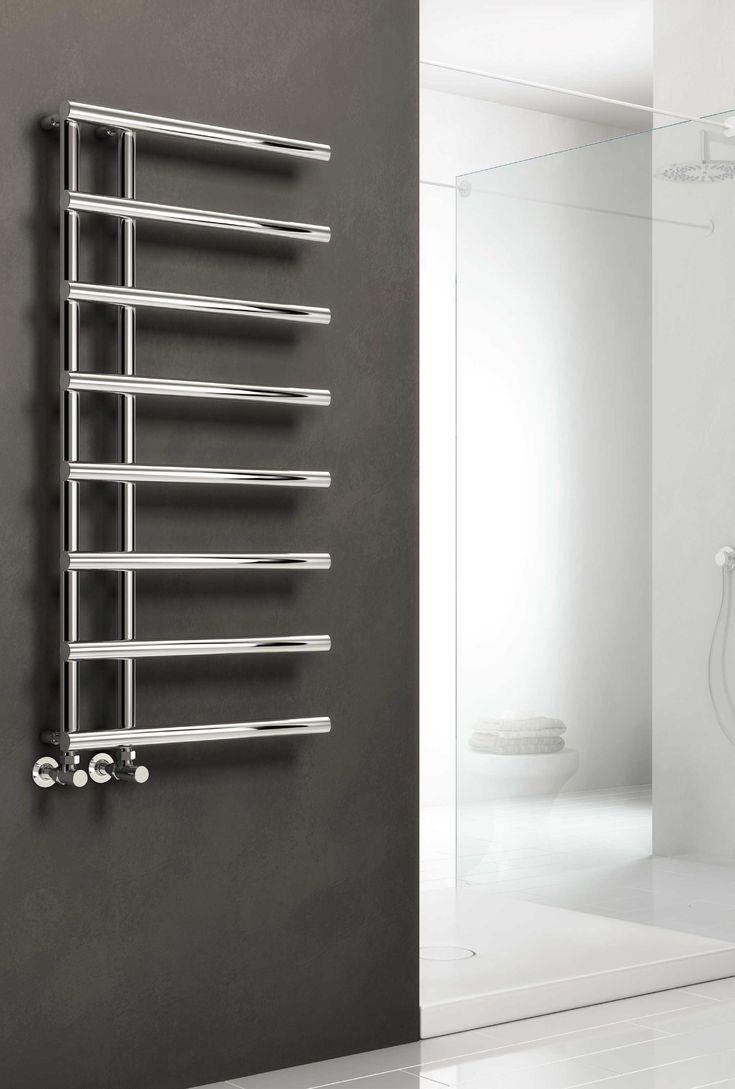 Sale white amp black designer heated towel rails bathroom radiators - The Reina Matera Designer Heated Towel Rail The Perfect Addition To Any Bathroom Or Kitchen