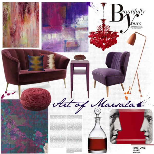"""Art of Marsala..."" by tetrees on Polyvore"