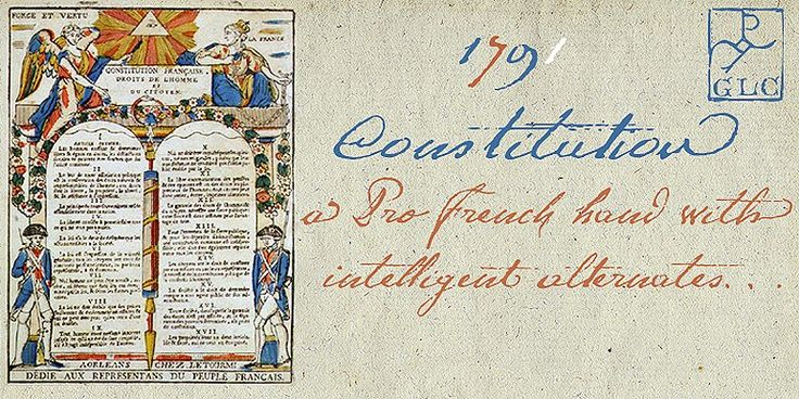 1791 Constitution, manual OTF. by GLC Foundry on @creativemarket