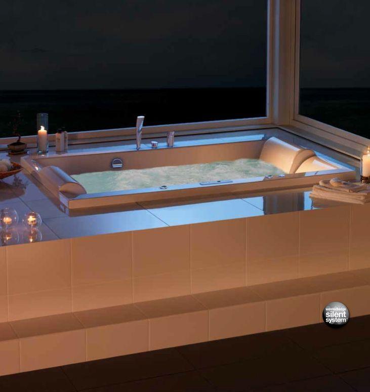 Moderne boblebad for to personer: http://handlebad.no/badekar-massasjekar/massasjekar/pacific-190-sq