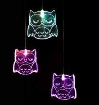 With fun acrylic shapes, these LED lights softly cycle through a spectrum of colours providing a soothing and gently stimulating light for the little ones. These battery operated lights can be hung anywhere.Owl Mobile LED - Full colour cycle Code: MOOW RRP $39.95