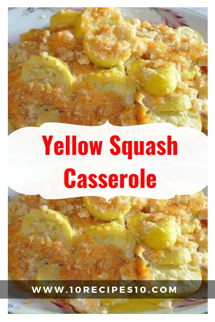 DIRECTIONS: 2 pounds of yellow squash (about 4 cup…