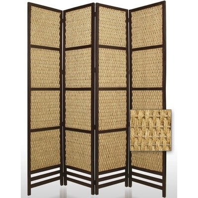 Screen Gems Braided Rope Portable Room Divider