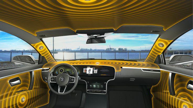 Using Interior Plastic Trim Panels as Loudspeakers