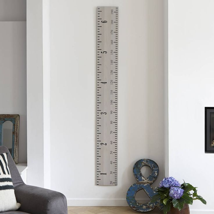 Are you interested in our personalised white wooden ruler growth chart? With our giant vintage wooden ruler height chart you need look no further.