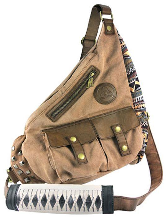 The Walking Dead Michonne Sling Is A Bag For Badasses - WANT!!