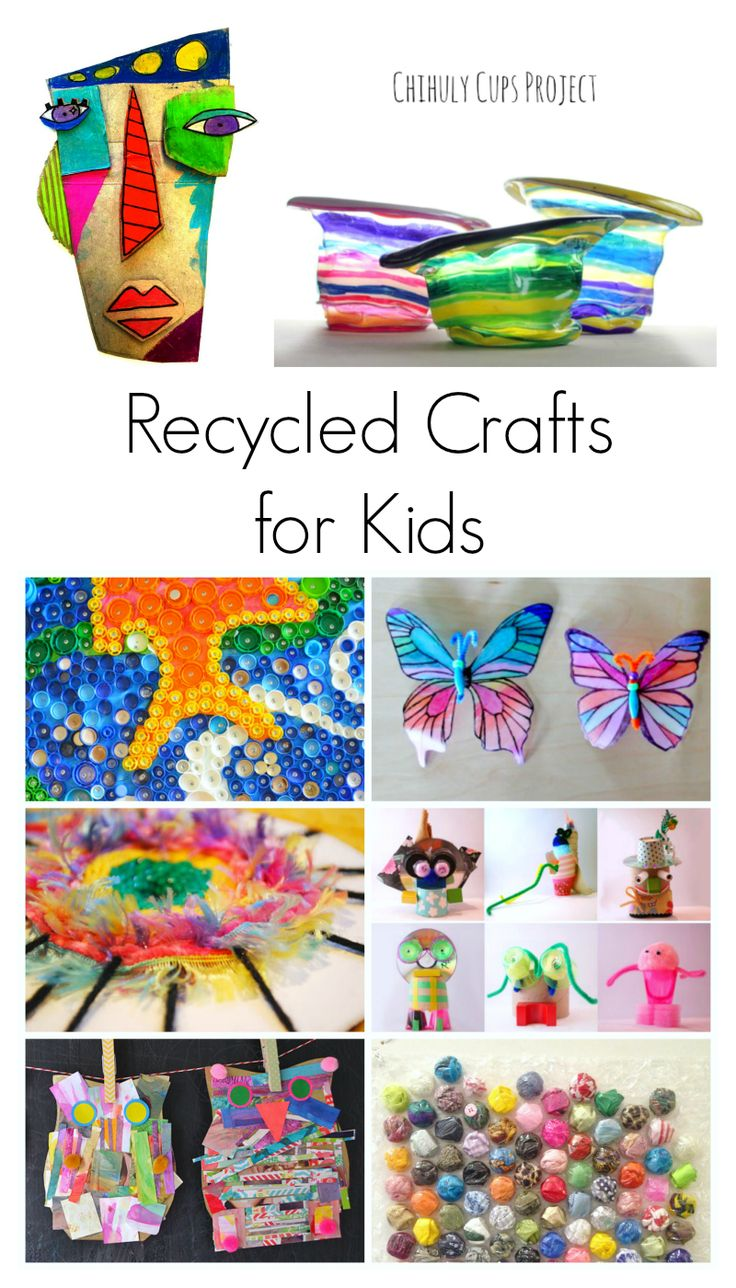 17 best images about simple kids craft ideas on pinterest for Art and craft for kids from waste material