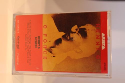 Kenny-G-G-Force-Cassette-Tape-1983-Arista-Records