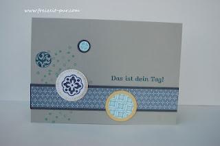 www.Freizeit-pur.com  Geburtstagskarte für den Mann - Circle Circus