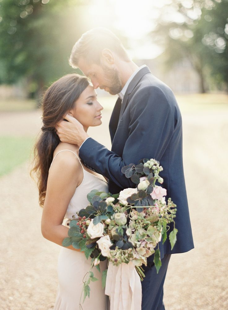 Vicki Grafton Photography | Paris France Chateau Wedding | Fine Art Film Wedding Photographer | Blush Wedding | Amy Merrick Bouquet | Alexandra Grecco Gown | Styling by Ginny Au | The Artist Holiday | Chiali Meng Hair and Makeup | Chateau de Bouthonvilliers