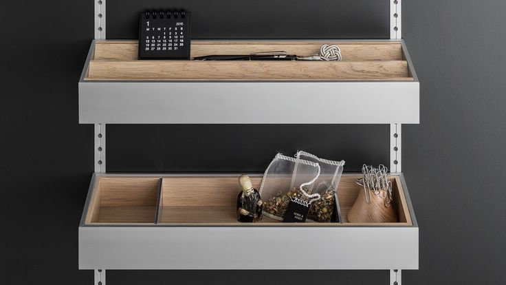 SieMatic interior accessories: a place for everything, and everything in its place.