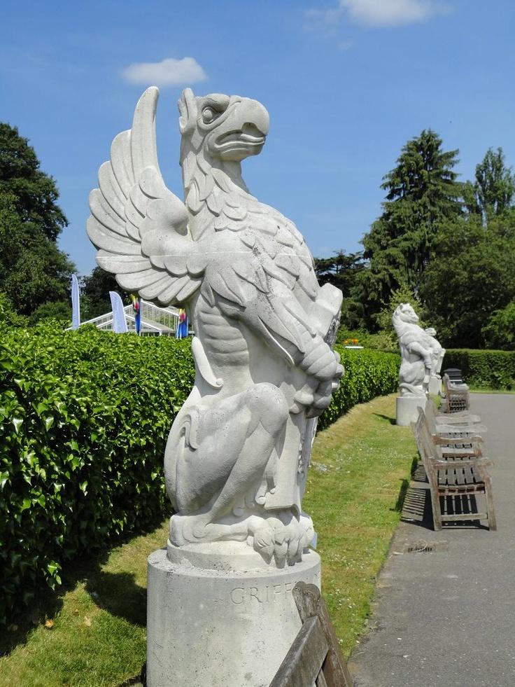 Superior Griffin Statue. Kinda Interesting.