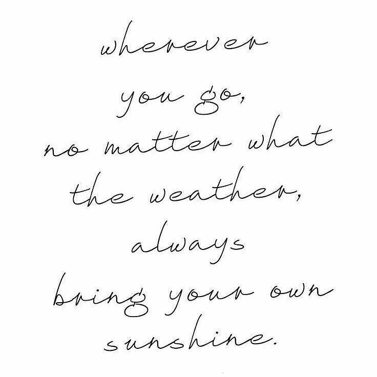 #sunshine #light #you
