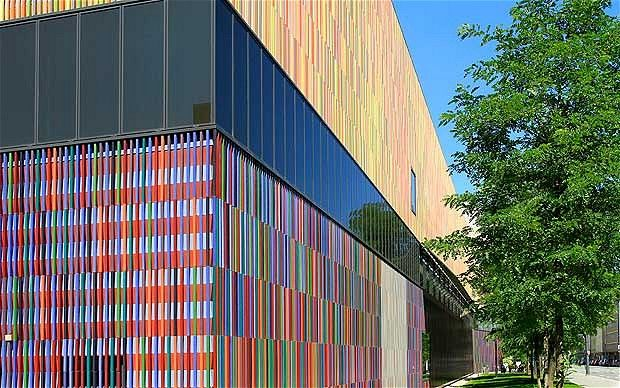 The Brandhorst Museum features over 60 works by Andy Warhol, Cy Twombly, Gerhard Richter, Bruce Nauman, Damien Hirst and Joseph Beuys. http://www.museum-brandhorst.deArt Gallery, Bavaria 2013, Brandhorst, Auguste 2012, Museums, Europe Trips, Drupalcon Europe, Andy Warhol, Europe 2012